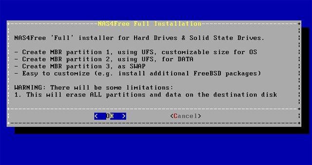 Tự xây dựng hệ thống NAS đơn giản: Phần 2: Cài đặt