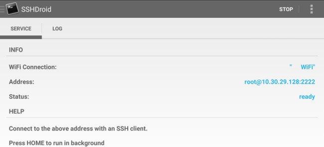 Máy chủ SSH