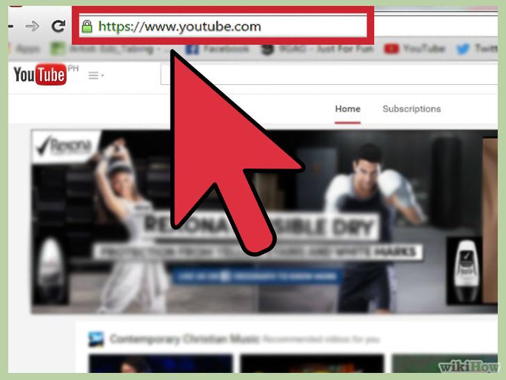 truy cập youtube