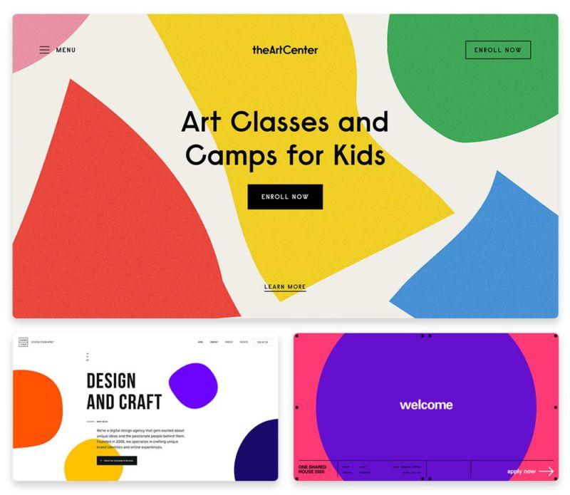 10 xu hướng thiết kế web hàng đầu năm 2019