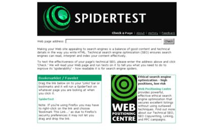 Spidertest.com